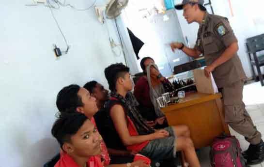 Cewek Belia Dalam Kondisi Hamil Terjaring Razia Satpol PP Jombang