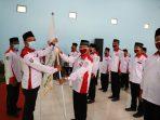 Wakil Bupati Jombang Sumrambah dealam pelantikan penbgrurus Anak Cabang Asosiasi BPD Nasional Kecamatan Diwek Jombang.jpg