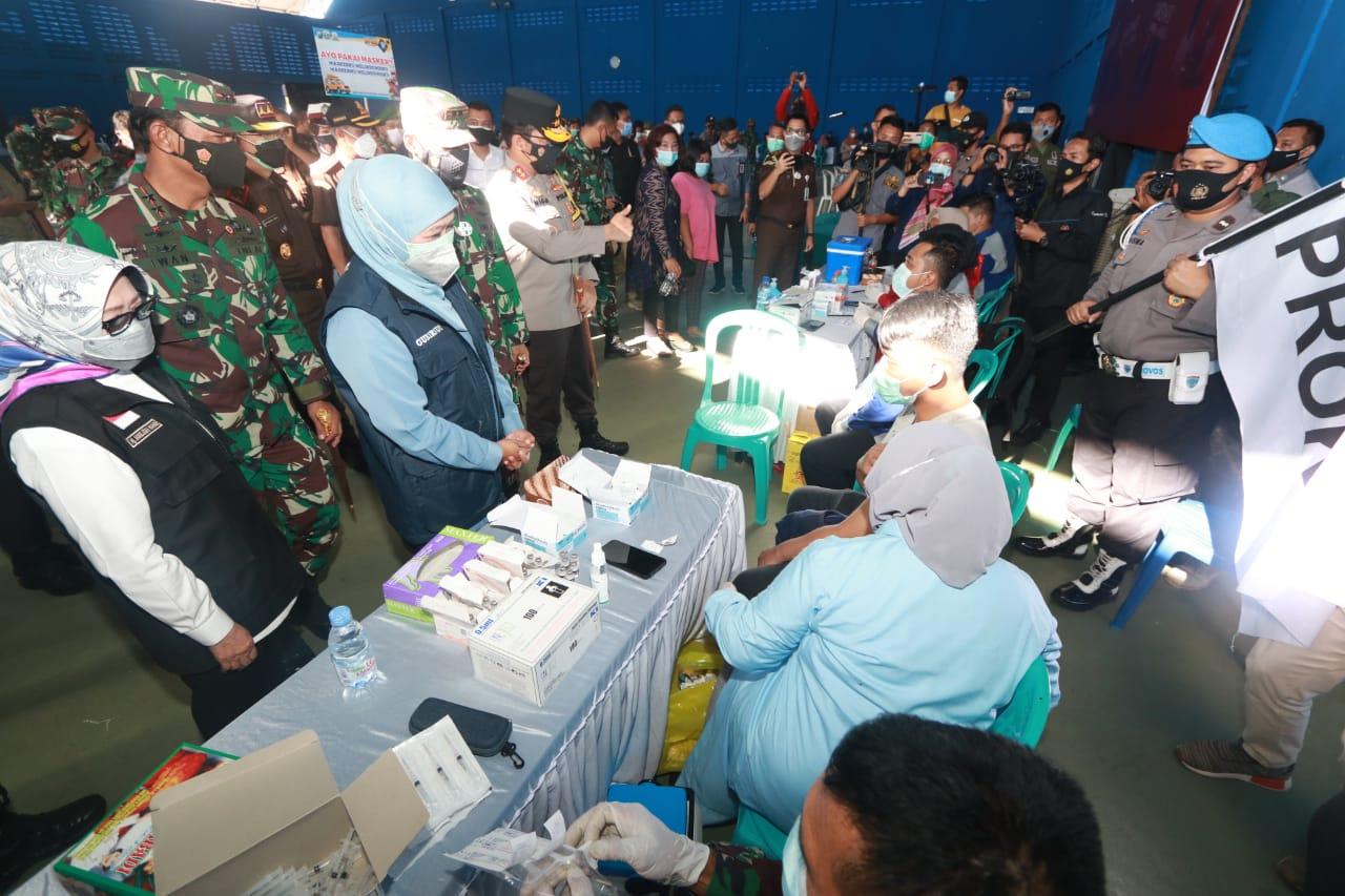 Forkopimda Jatim Cek Vaksinasi di Jombang Wujudkan Herd Immunity | Memo Surabaya