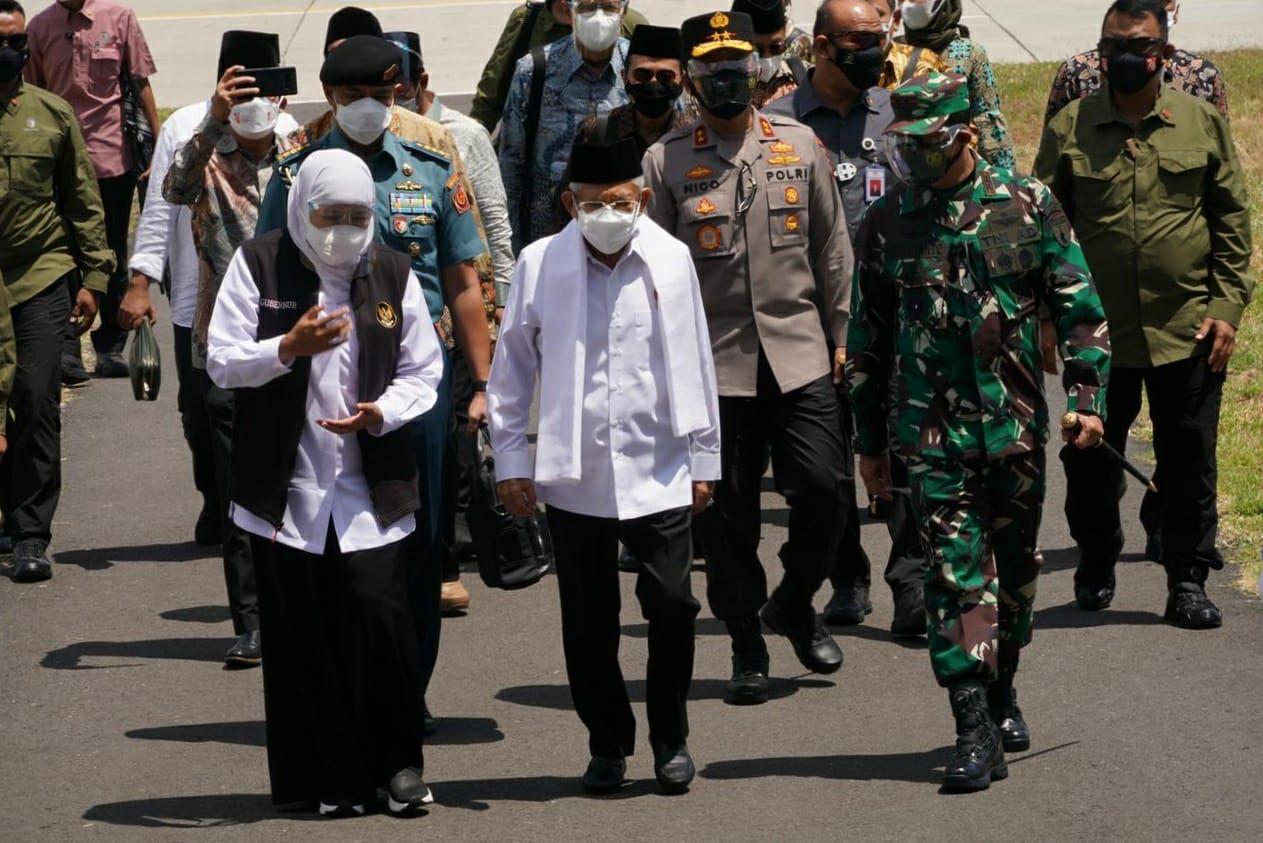 Forkopimda Dampingi Kunjungan Wakil Presiden RI di Jatim | Memo Surabaya
