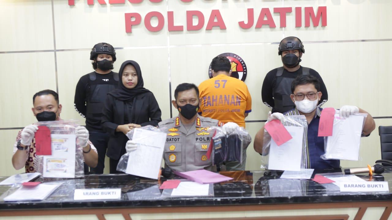 Ngaku Staf Khusus 'Wantannas', Warga Surabaya Diringkus Polda Jatim | Memo Surabaya